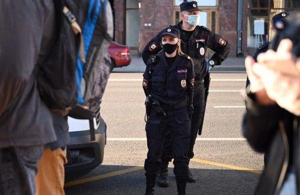 Полицейские сняли двоих молодых людей сАмериканского моста