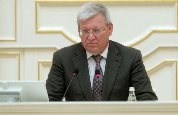 Петербургский депутат выругался наисполнительную власть