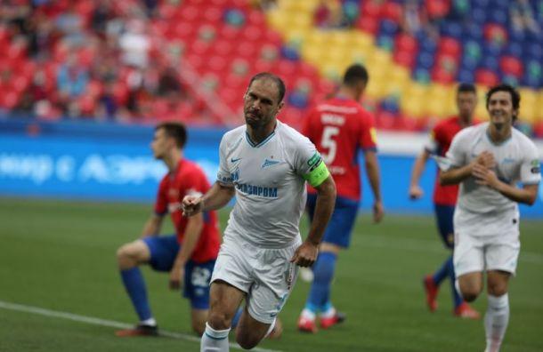 «Зенит» разгромил ЦСКА вматче 23-го тура РПЛ