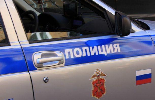 Двое мужчин сРубинштейна нанесли оскорбительную надпись нафургон полиции