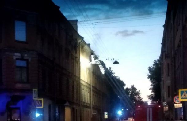 При пожаре вквартире наВоскова погиб человек