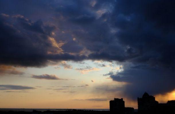 Облачная спираль циклона закроет небо плотной пеленой ивызовет дожди