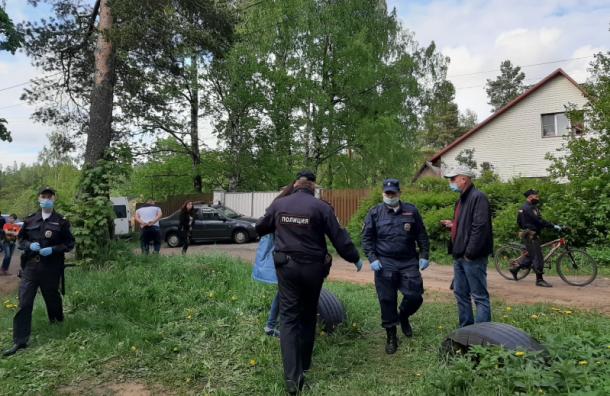 Полицейские сломали руку активисту вЛенобласти