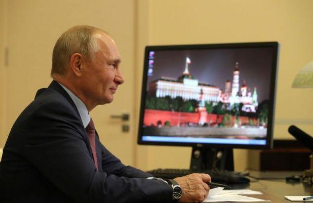 Путин: Работа вдистанционном режиме стала испытанием