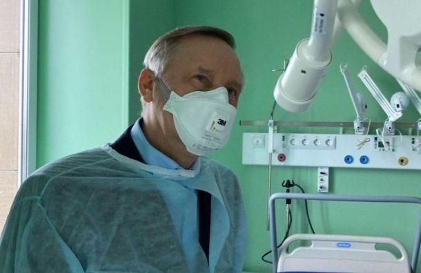 Федеральные клиники вПетербурге первыми возобновят свою работу