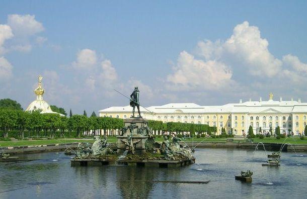 Парки ифонтаны Петергофа откроют для посетителей 3июля