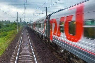 Первый поезд изПетербурга вМурманск прибыл после обрушения моста