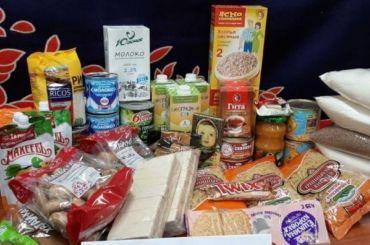 Петербуржцы затри дня получили 224 тысячи продуктовых наборов