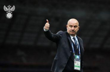 Черчесов назвал «Газпром Арену» гордостью футбольной России