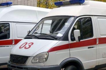 Монтажник упал с50-метровой высоты натерритории Ижорских заводов