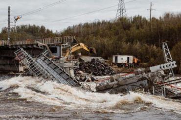 Движение поездов до Мурманска после обрушения моста восстановят к 23 июня