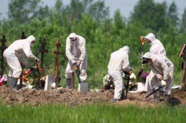 Стало известно как проходят ковидные похороны накладбище вКолпино