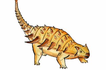 Ученые СПбГУ создали самую подробную 3D-модель мозга исосудов анкилозавра