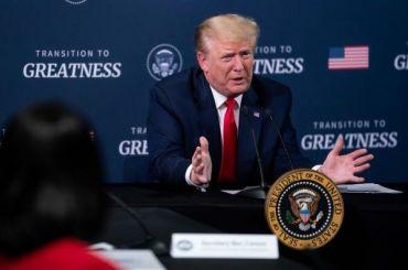 Трамп обвинил протестующих втом, что они непустили его сторонников намитинг