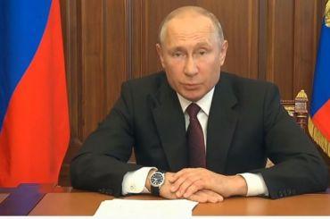 Путин призвал россиян дать ему возможность править с2024 по2036 год