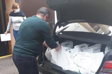 Продуктовые наборы передали более 500 семьям мигрантов вПетербурге