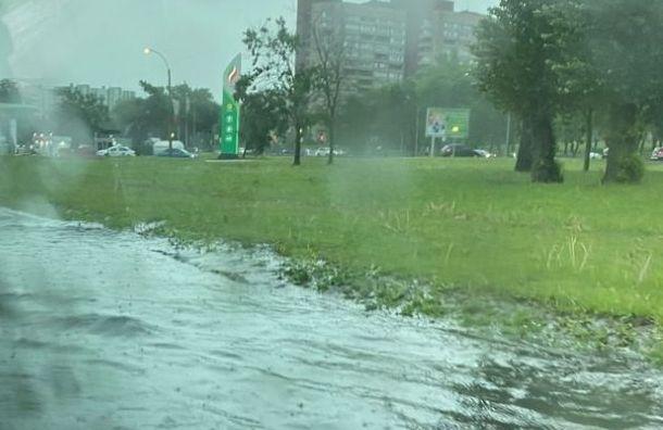 Пушкинский район больше всех пострадал отливня