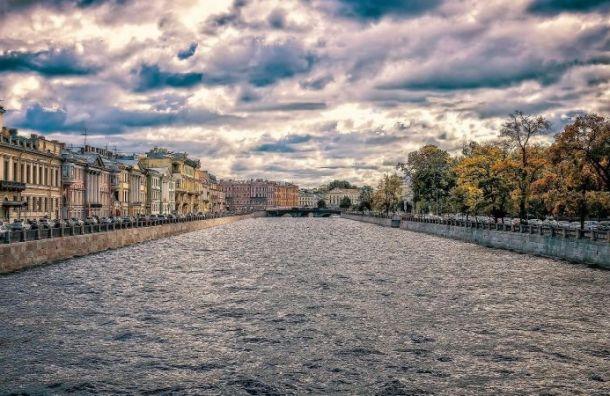 Петербург попал под влияние обширного циклона