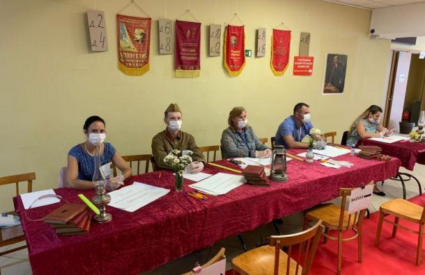 Избирательные участки вЛенобласти оформили встиле СССР