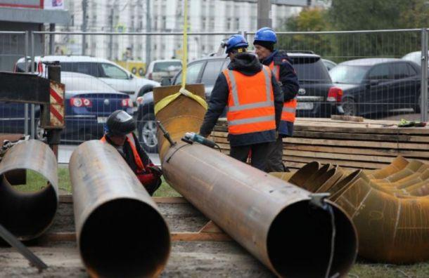 Трубы Невского района проверят напрочность 24июля