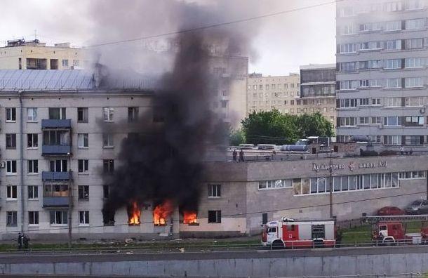 «Думали, землетрясение»: петербуржцев разбудил прогремевший взрыв