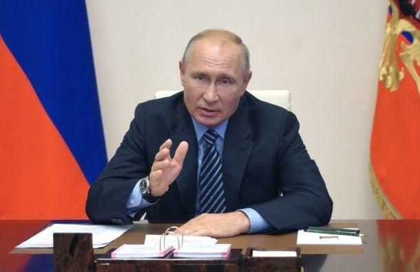 Путин: Нам удалось недопустить взрывного роста безработицы