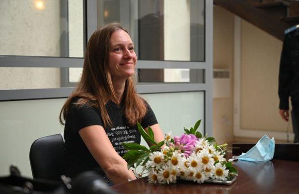Журналисты встретили Светлану Прокопьеву аплодисментами