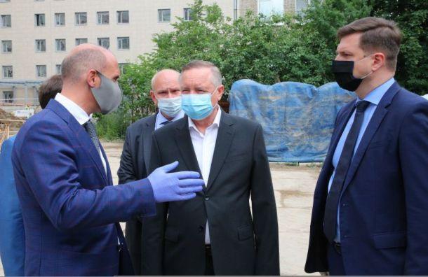 Беглов: Новый корпус Госпиталя ветеранов войн заложат 9июля