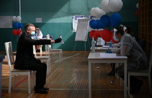 Глава Петербурга Александр Беглов проголосовал попоправкам вКонституцию