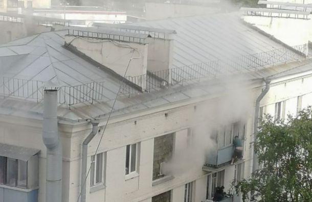После взрыва газа вдоме наКраснопутиловской без крова остались две семьи