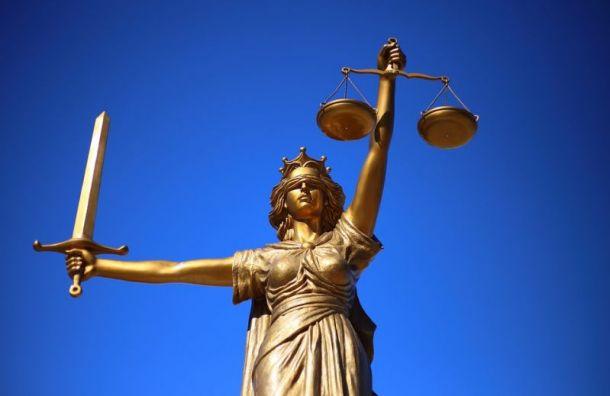 ВПетербурге экс-полицейского осудили навосемь лет заполучение взятки