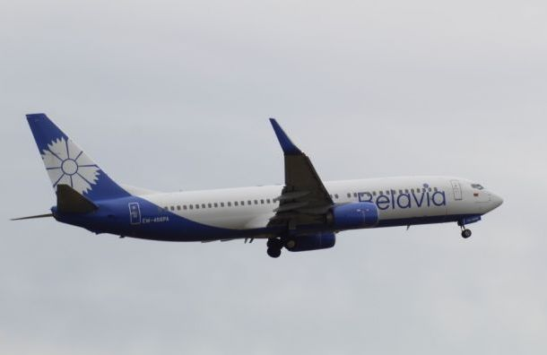 «Белавиа» продлила запрет на полеты в Россию