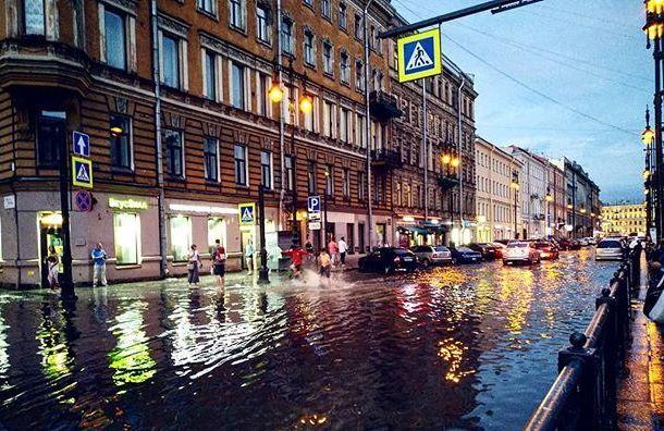 Кратковременные дожди огорчат петербуржцев 8июля