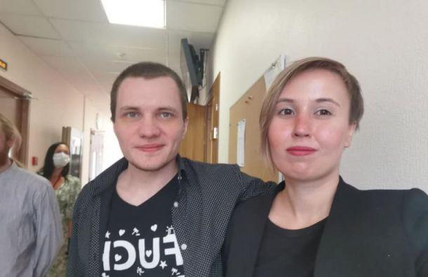 Горсуд отменил арест петербургского активиста Чупрунова