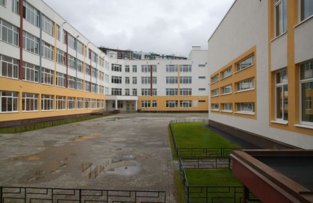 Беглов пообещал открыть всентябре новую школу на1100 мест