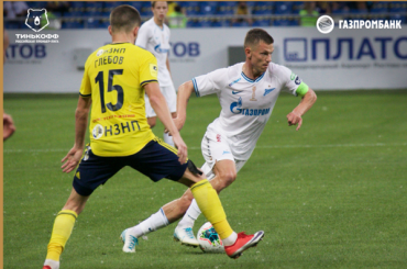 «Зенит» впоследнем туре чемпионата России победил «Ростов»