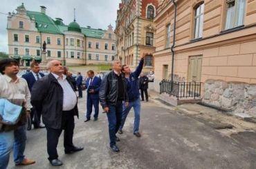 Дрозденко выделил 500 млн рублей на«возрождение» Выборга