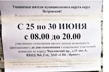 Горизбирком: 79,16% петербургских избирателей сказали дапоправкам