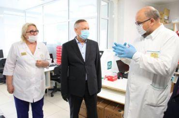 Николаевскую больницу перепрофилировали под прием больных сCOVID-19