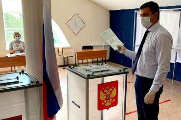 Попоправкам вКонституцию вПетербурге уже проголосовали 66,84% избирателей