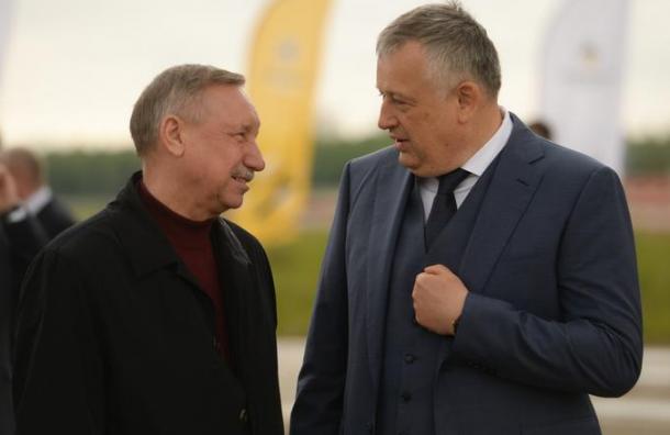 Губернаторы Петербурга иЛенобласти обсудят интеграцию регионов
