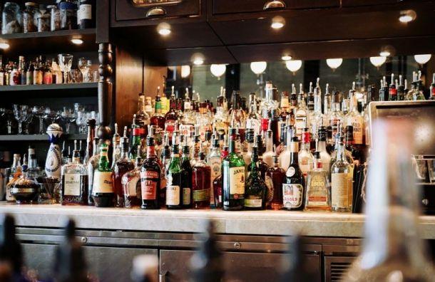 Наалкоголь вбарах Петербурга могут установить минимальные цены