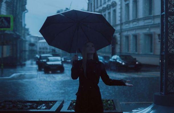 Холодный фронт принес вПетербург дожди исильный ветер