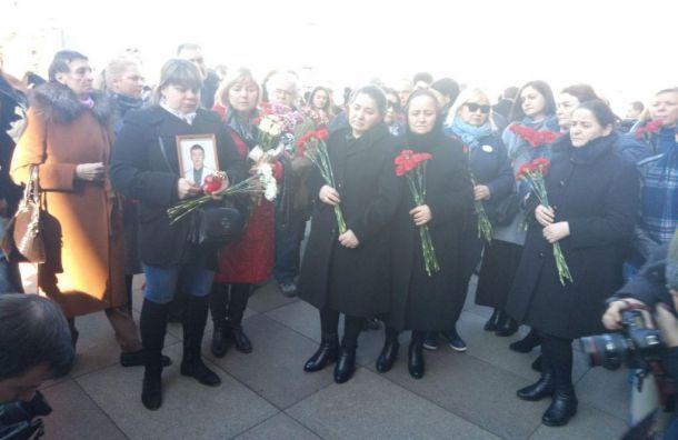 Метрополитен Петербурга отказывается платить 500 тысяч рублей зажертву теракта