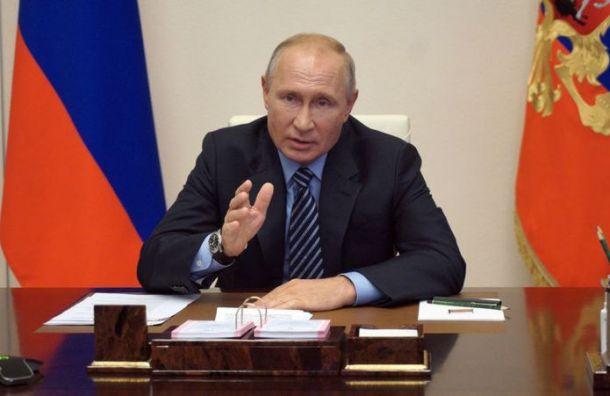 Путин надеется, что второй волны коронавируса небудет