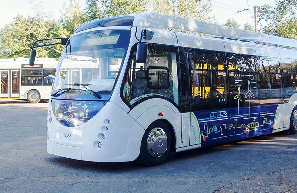 Более 100 новых троллейбусов появятся вПетербурге доконца года