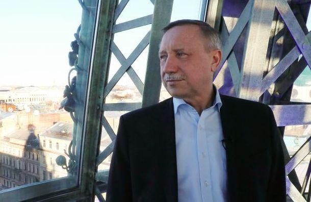 Беглов пообещал наказывать торговые центры рублем занесоблюдение санитарных норм