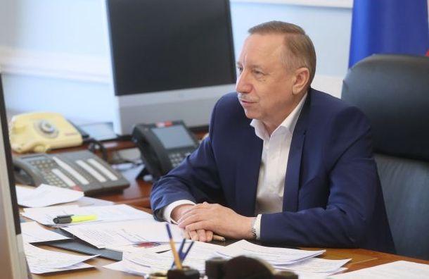 Беглов выразил соболезнования всвязи скончиной Гершта