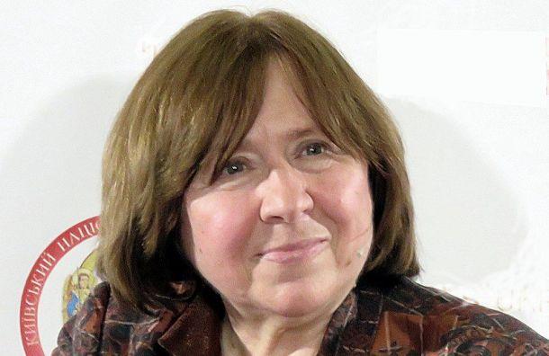 Писательницу Алексиевич вызвали вСК Белоруссии надопрос