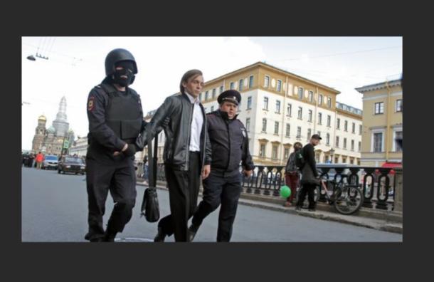 Либертарианца арестовали насемь дней запроведение шествия вподдержку Хабаровска